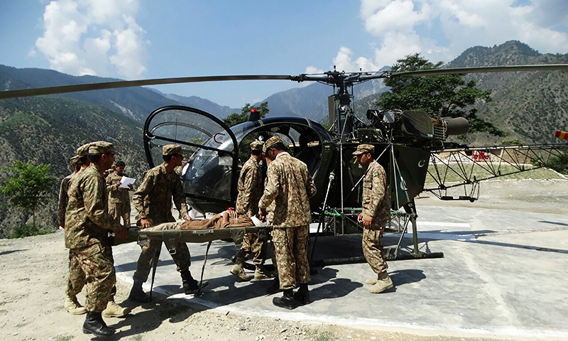 Death toll from Chitral floods rises to 33 as rescue and relief operations continue
