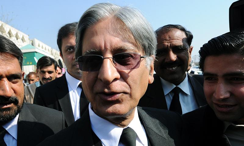 Iftikhar Chaudhry misused office to fulfil personal agenda, says Aitzaz Ahsan