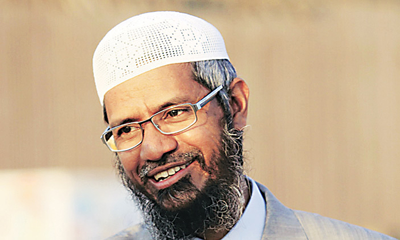 Fighting Naik's Salafism with an illiberal clampdown on free speech will only make matters worse. —Photo by Reuters