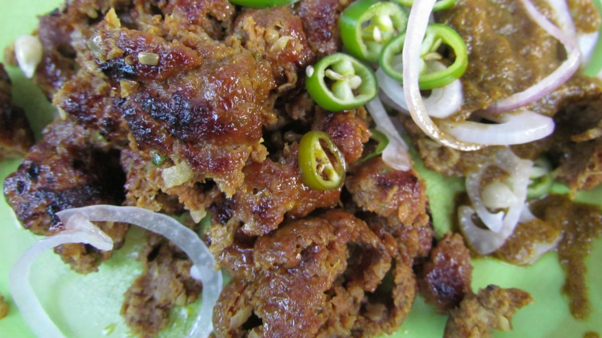 Fried minced meat? Don't let the name turn you off, it tastes delicious.