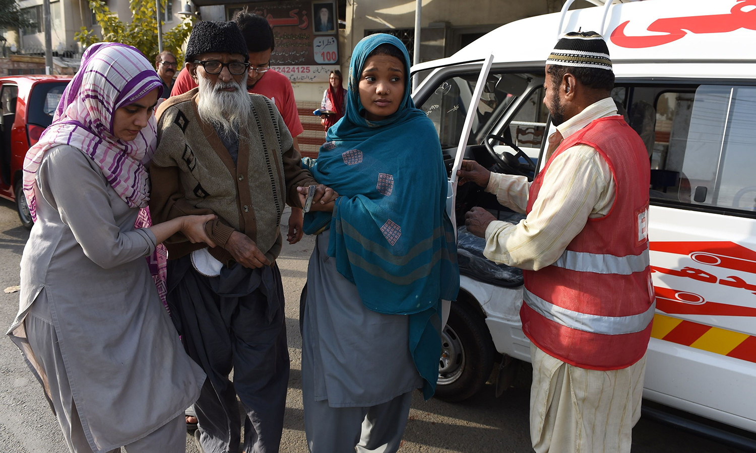 """""""These Birds Walk"""" – Filmmakers' shot at discovering Edhi"""