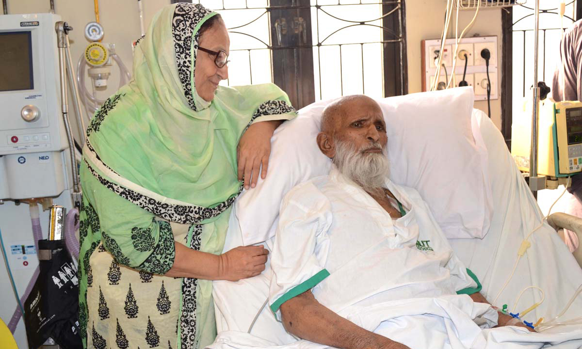 Edhi's eyes become source of vision for two blind persons