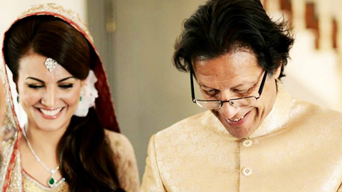 Imran and Reham Khan on their wedding on January 8, 2015