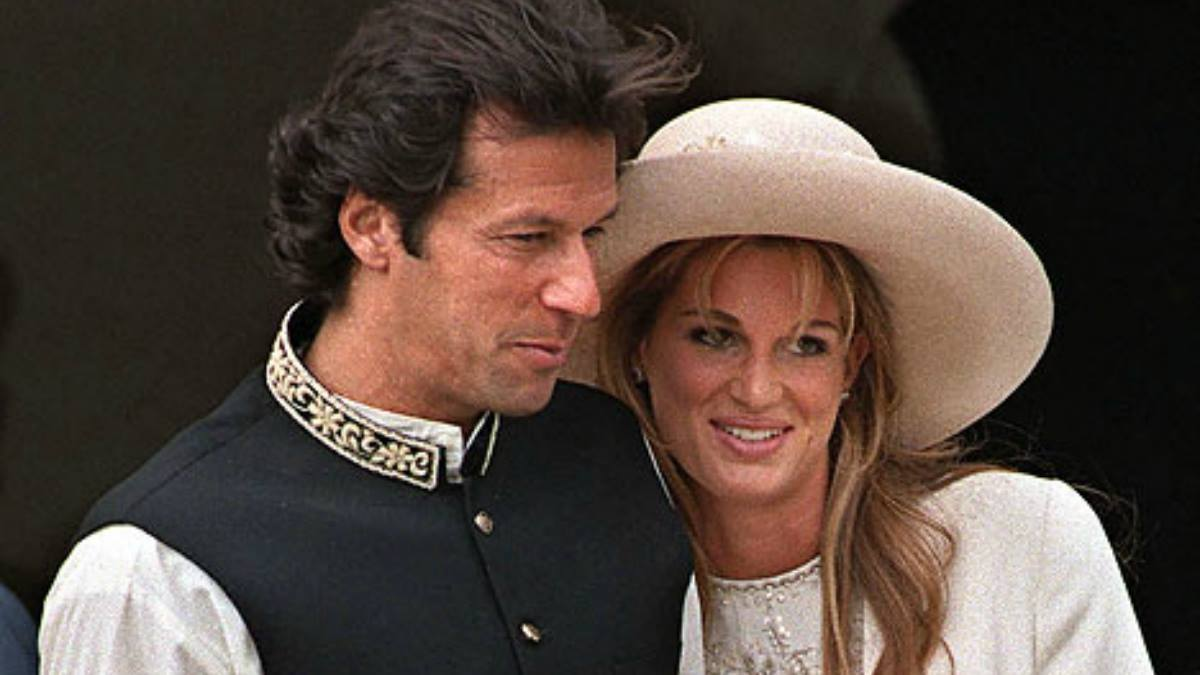 Imran and Jemima Khan, early days