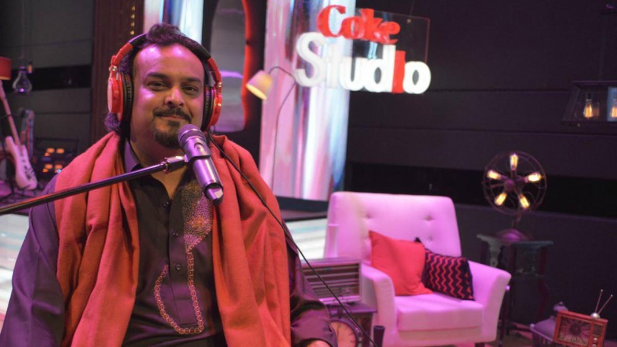 Amjad Sabri recording for Coke Studio