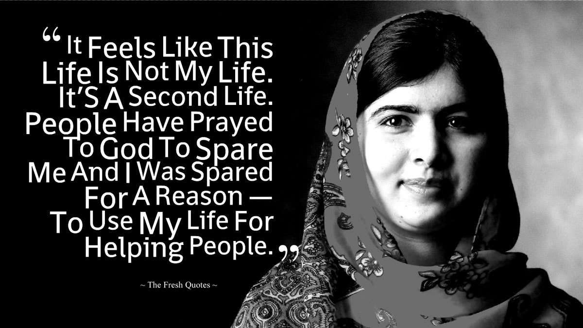 I Am Malala Quotes Beauteous Happy Birthday Malala These 10 Quotes Prove She's The Most