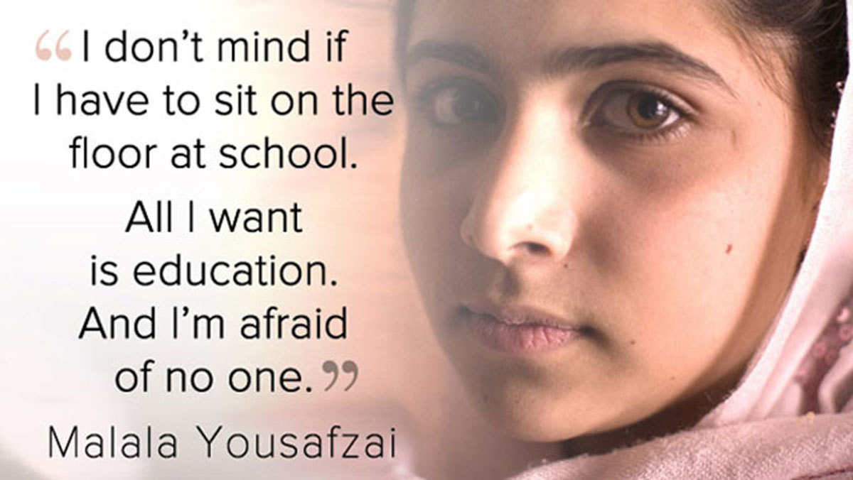 I Am Malala Quotes Happy Birthday Malala These 10 Quotes Prove She's The Most