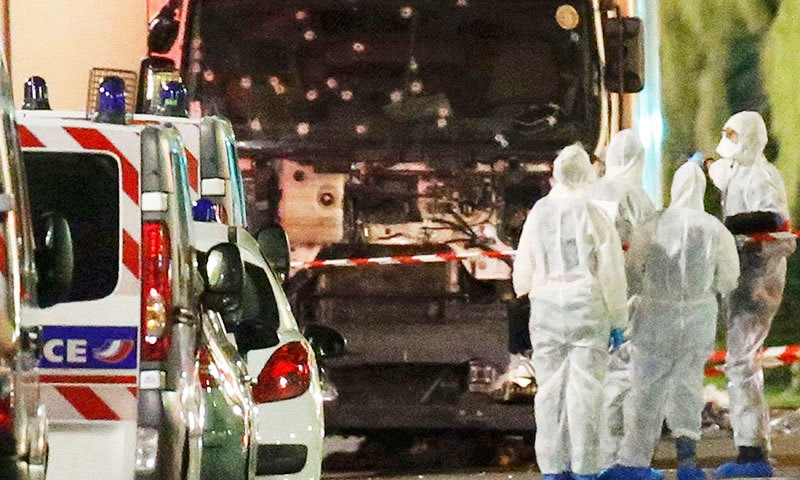 At least 84 dead in France truck attack - World - DAWN COM