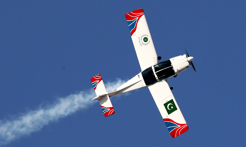 Super Mushak trainer aircraft. -Courtesy Pakistan Air Force