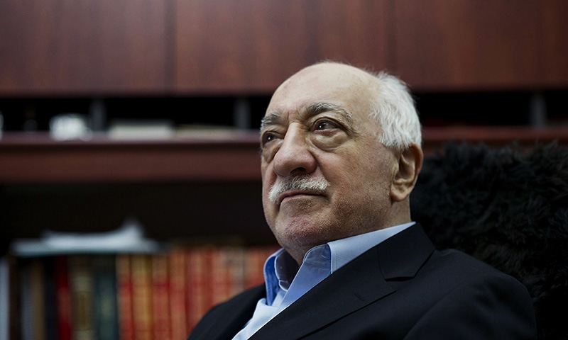 In this March 15, 2014 file photo, Turkish Muslim cleric Fethullah Gulen, sits at his residence in Saylorsburg, Pa. - AP Photo/Selahattin Sevi, File)