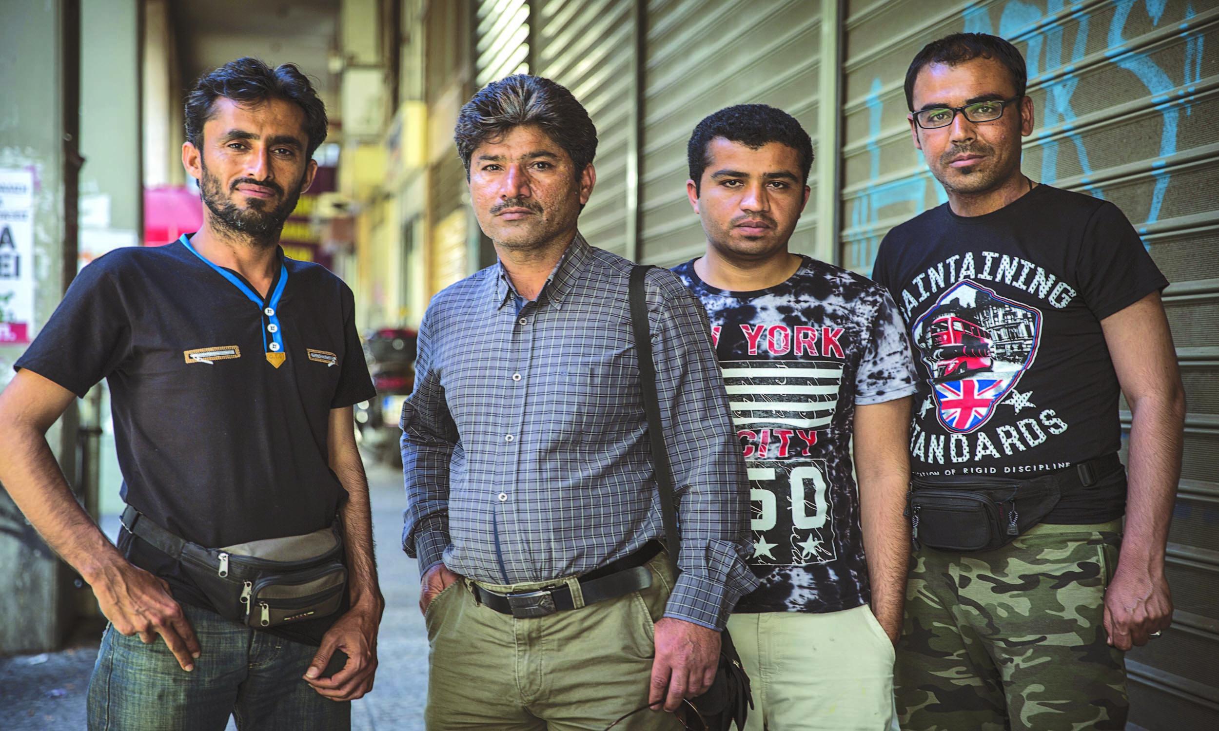 Baloch migrants in Athens | Jodi Hilton