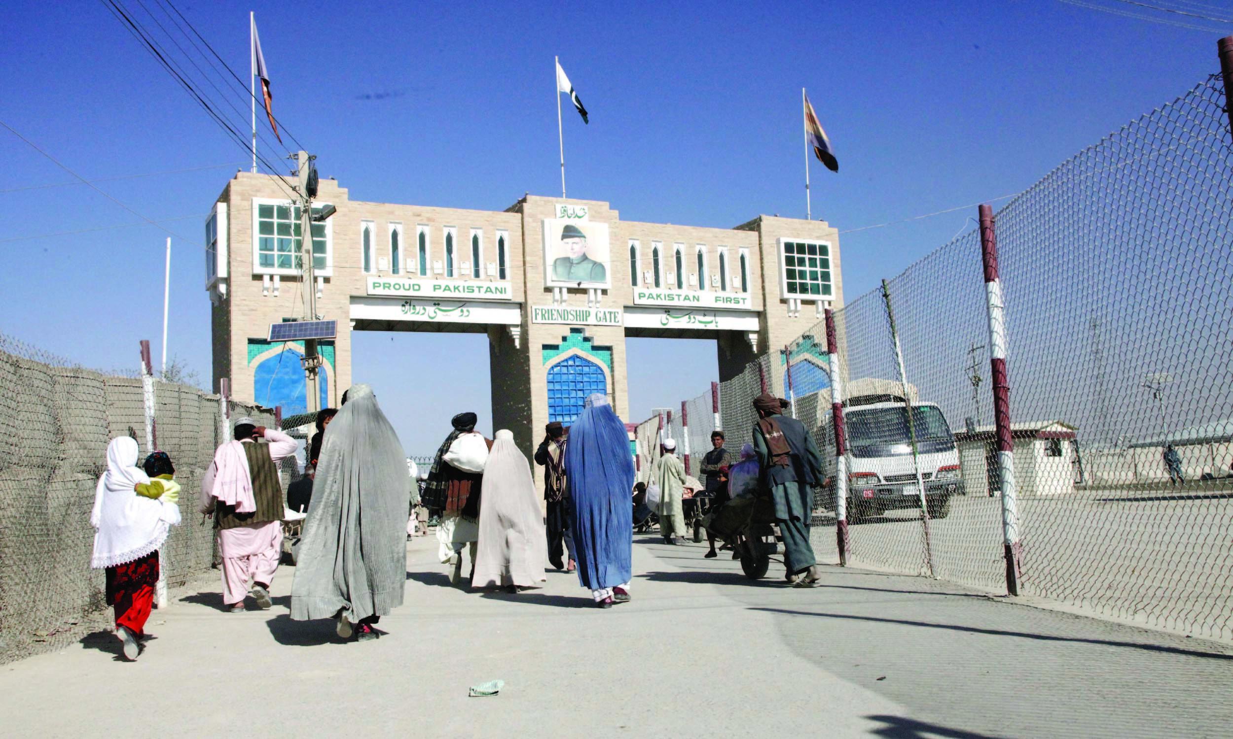 Pakistan-Afghanistan border in Chaman | Banaras Khan