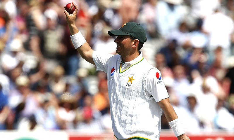 The leggie is on the way to become the fastest bowler to reach 100 Test wickets. — AFP