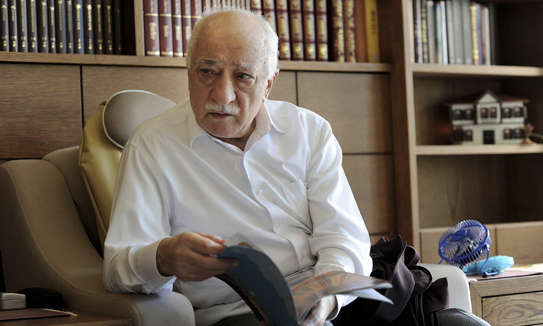 US cleric Fethullah Gulen behind coup plot, Istanbul informs Washington