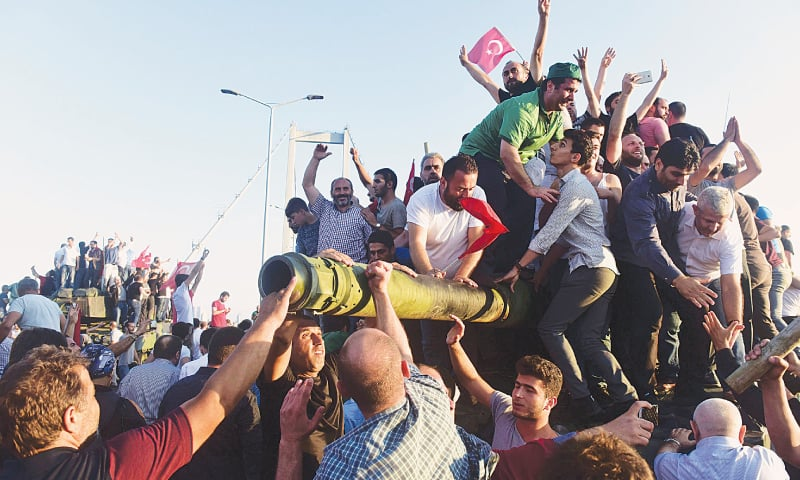 People power helps Erdogan foil military coup