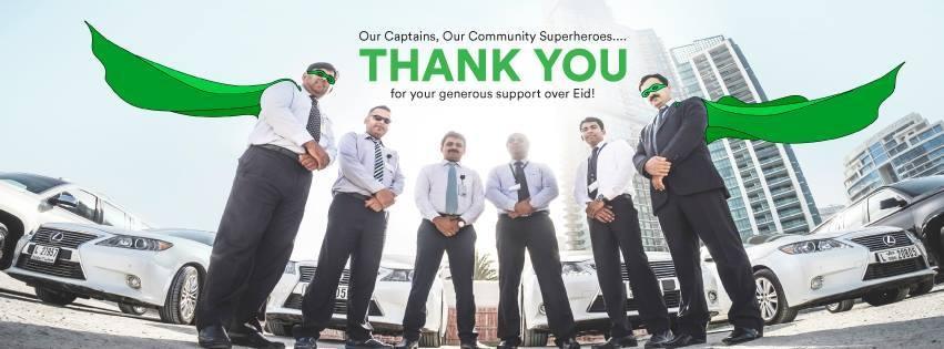 Careem's 'captains'. — Photo courtesy Careem