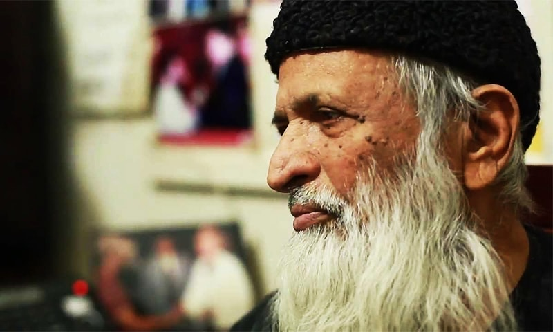 I went to Edhi's grave because women couldn't go to his funeral