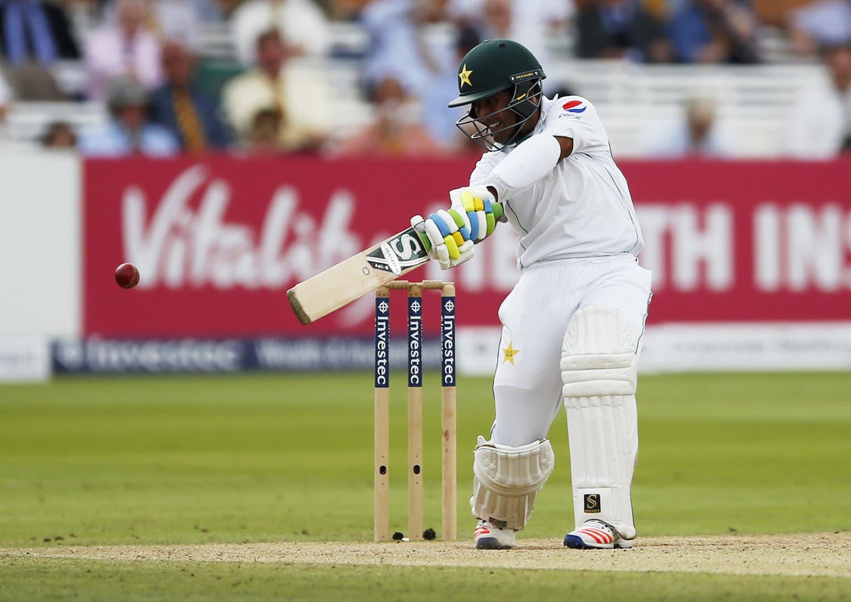 Asad Shafiq in action. — Reuters
