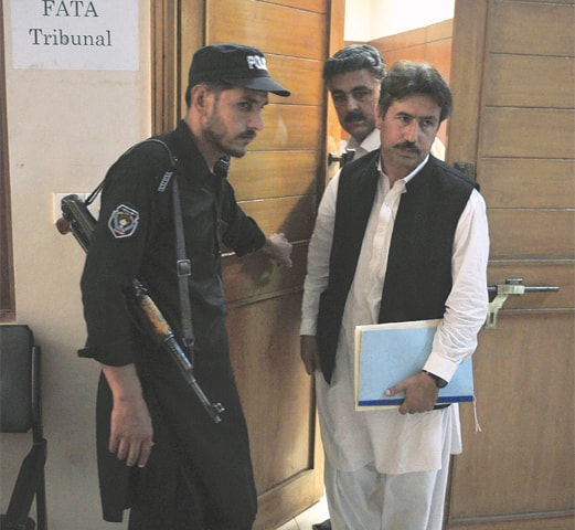 Fata tribunal receives Dr Afridi's case record