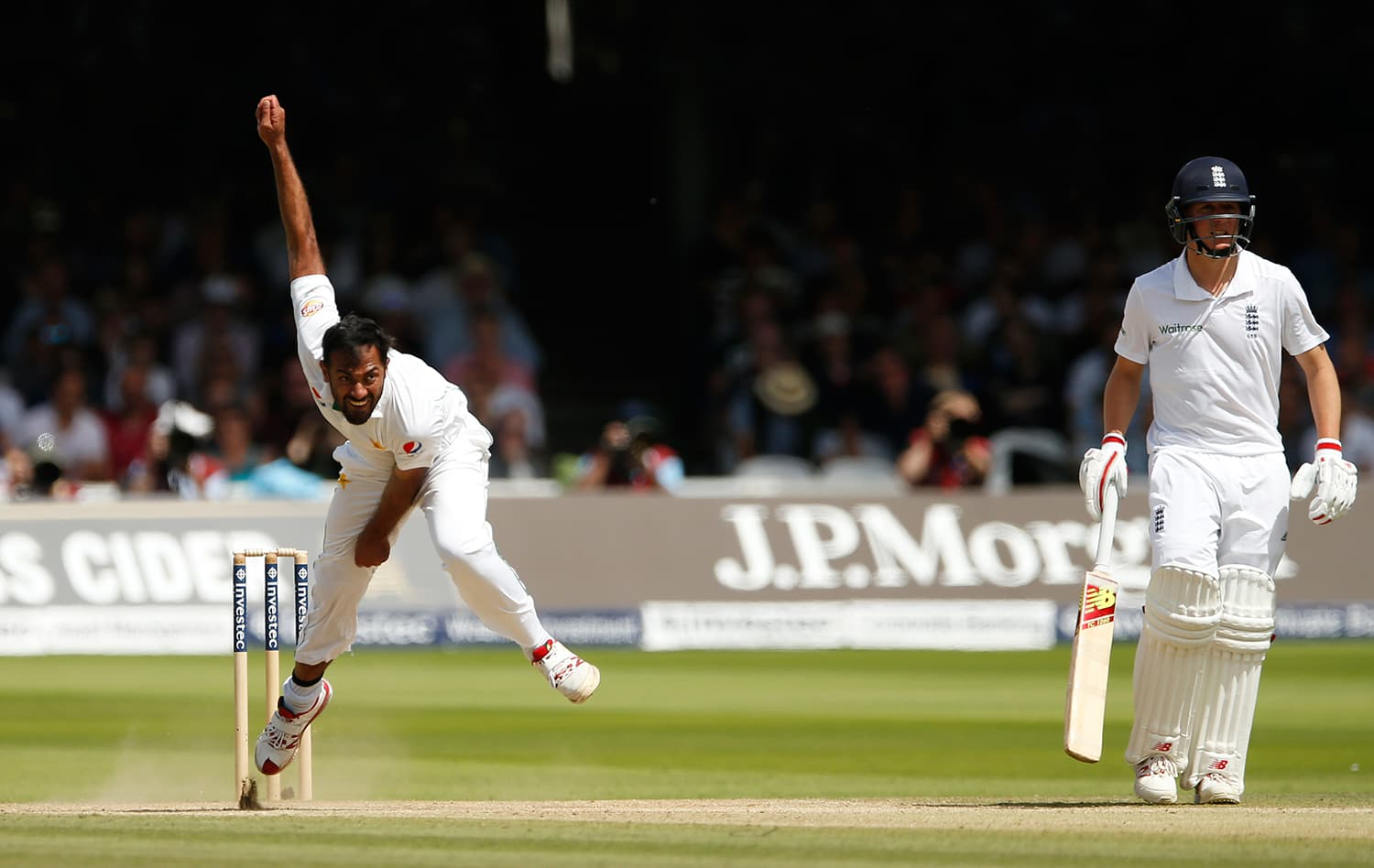 If it is quick and bouncy at Old Trafford, Wahab will love it. — Reuters
