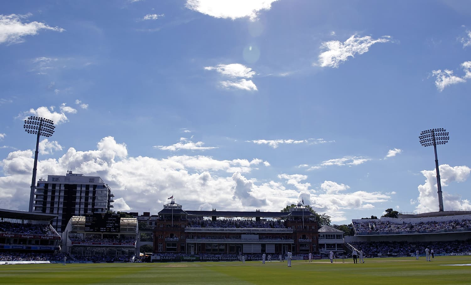 A view of the iconic Lord's Cricket Ground. — AFP