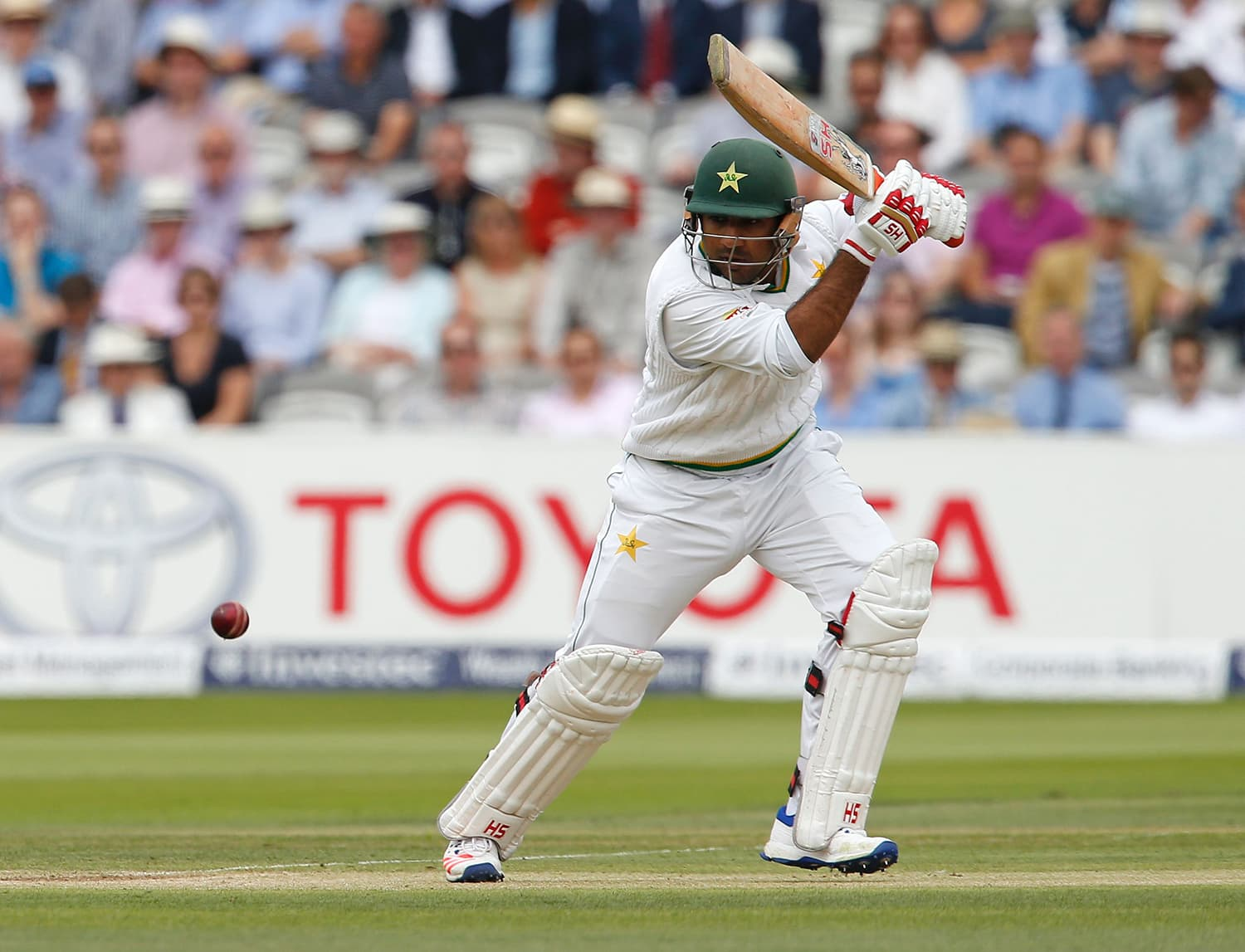 Sarfraz Ahmed is averaging 45 at seven. — AFP
