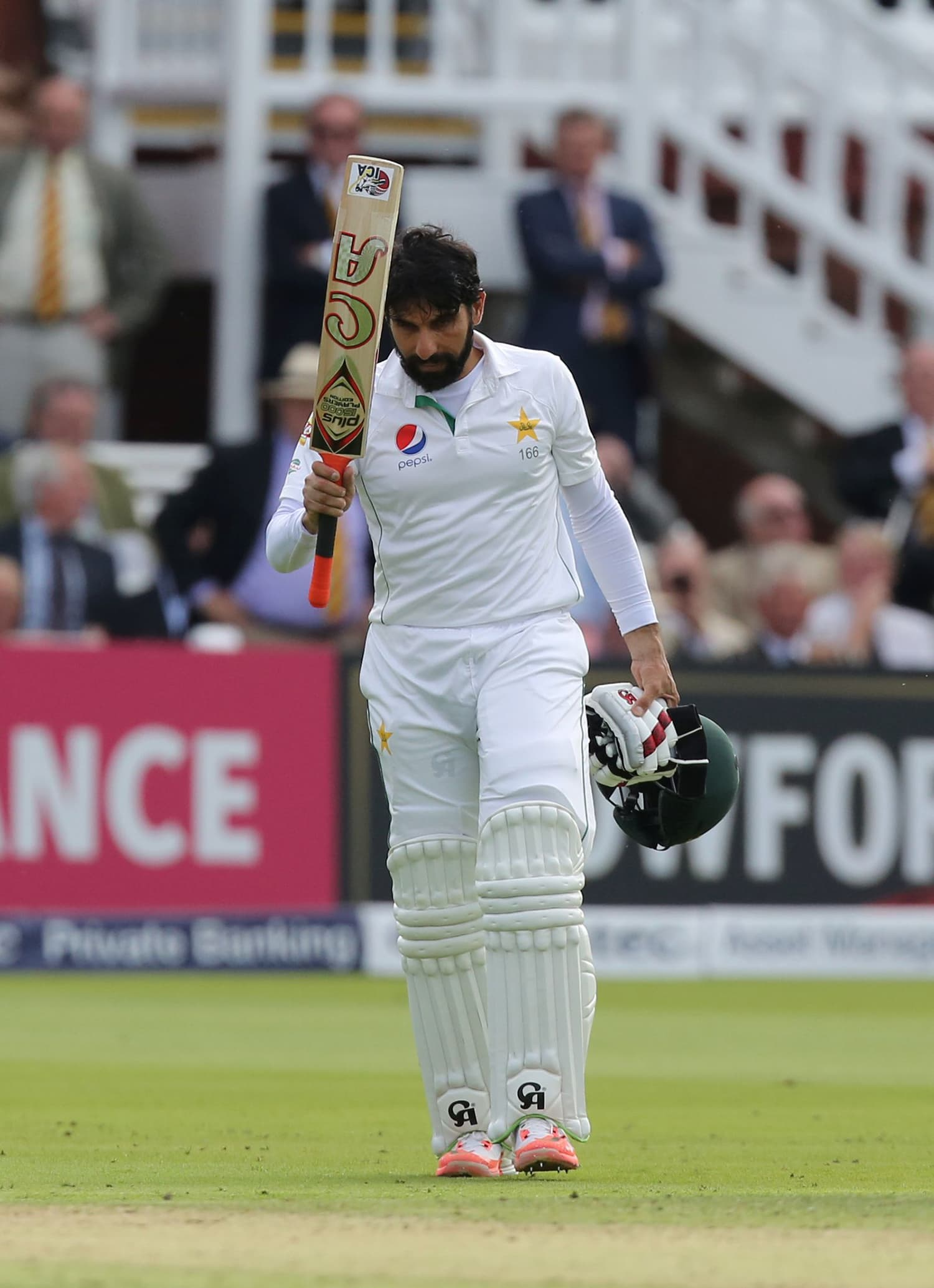 Misbah made the hundred that set up the match. — AFP