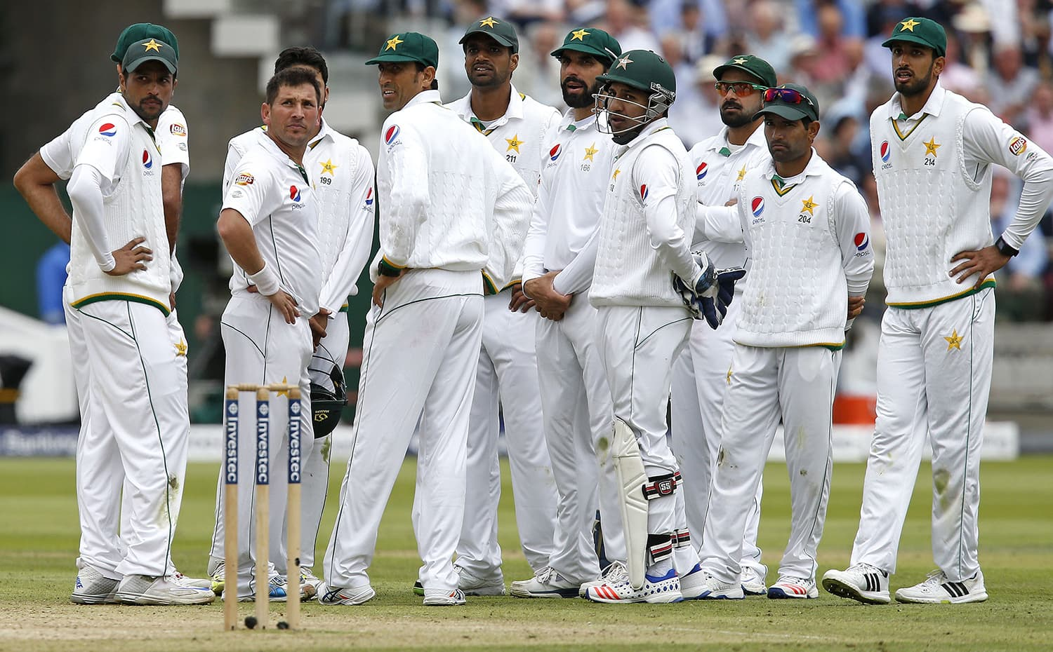 When Pakistan arrived at Lord's they fired up because of what happened here last time. — AFP