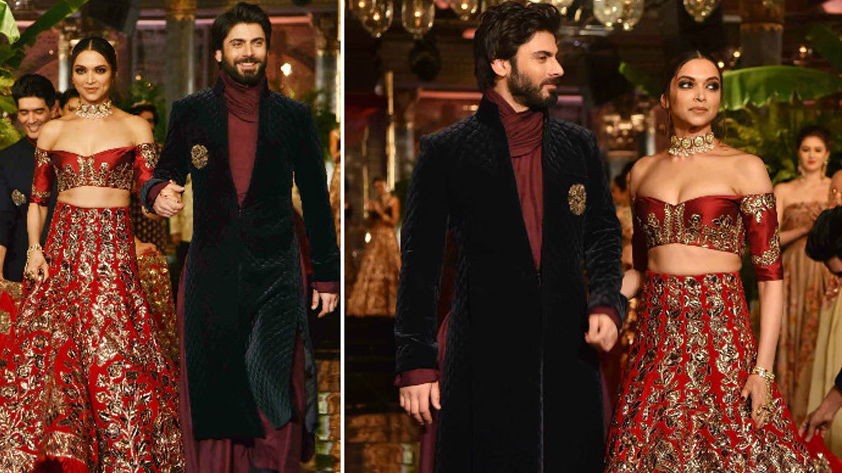 Fawad Khan, Deepika Padukone set the stage on fire at India Couture Week 2016