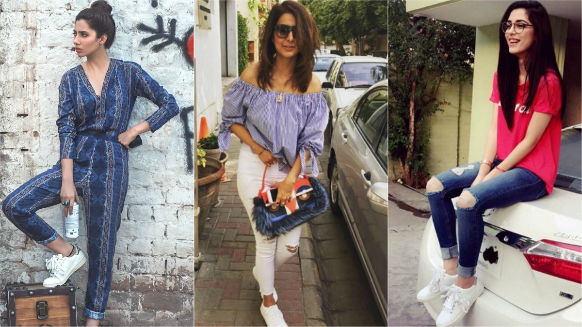 White sneakers are still on trend, but where can you find them in Pakistan?