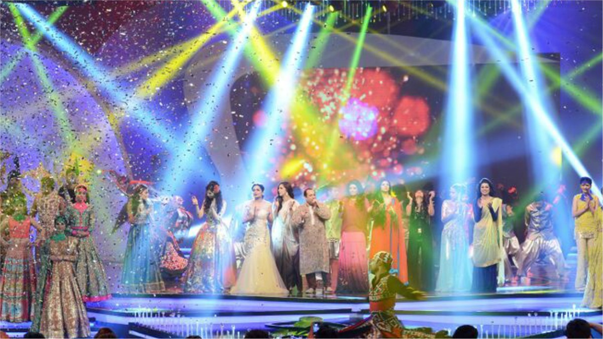 Last year's finale had performers dancing to Rahat Fateh Ali Khan's Nach Dam Dam