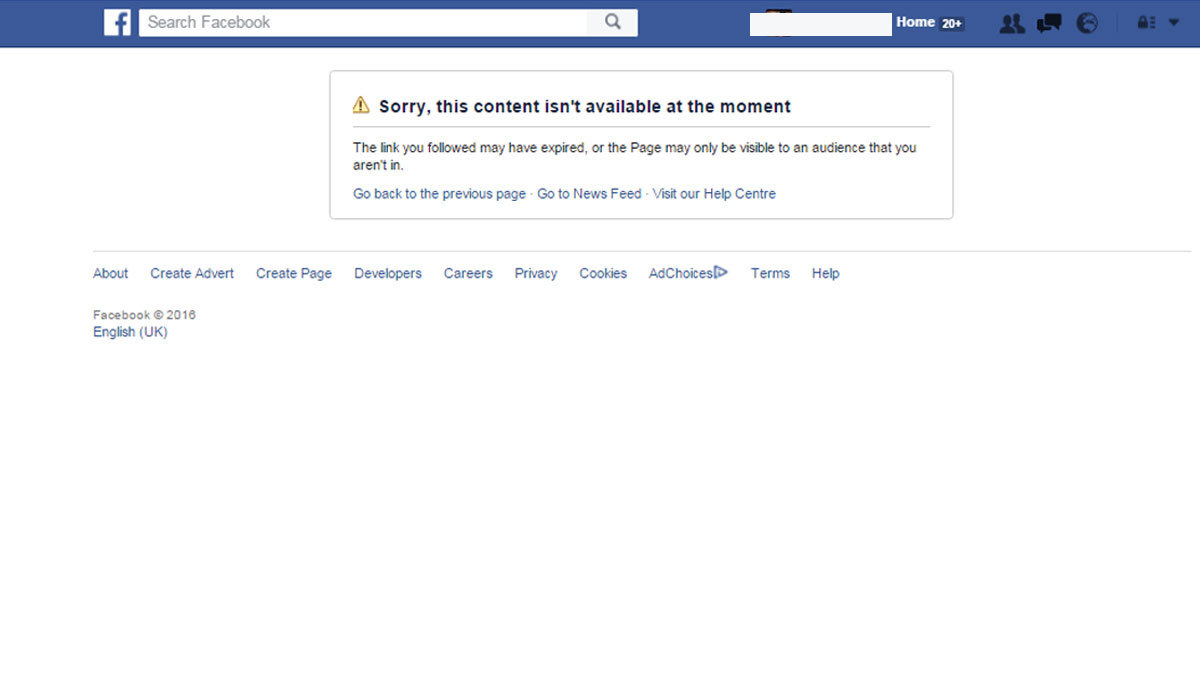 Hamza Ali Abbasi's personal account on Facebook has been banned for three days.
