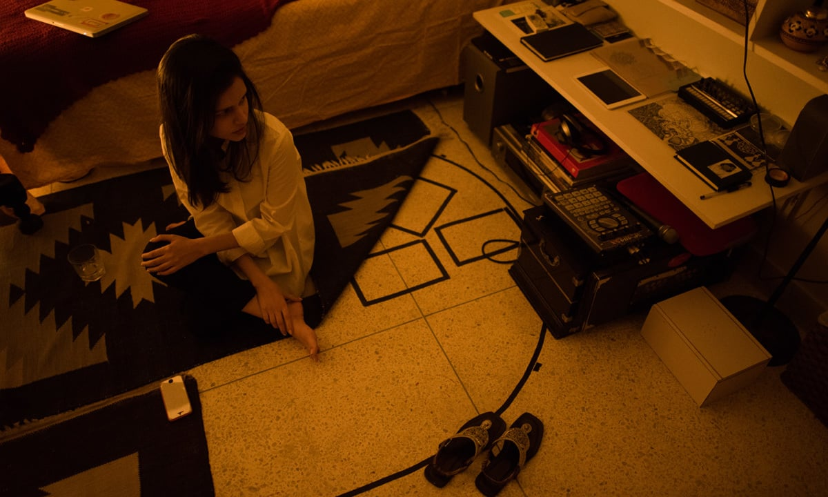 Zeerak Ahmed, the talent behind Slow Spin, in her bedroom studio   Mohammad Ali, White Star