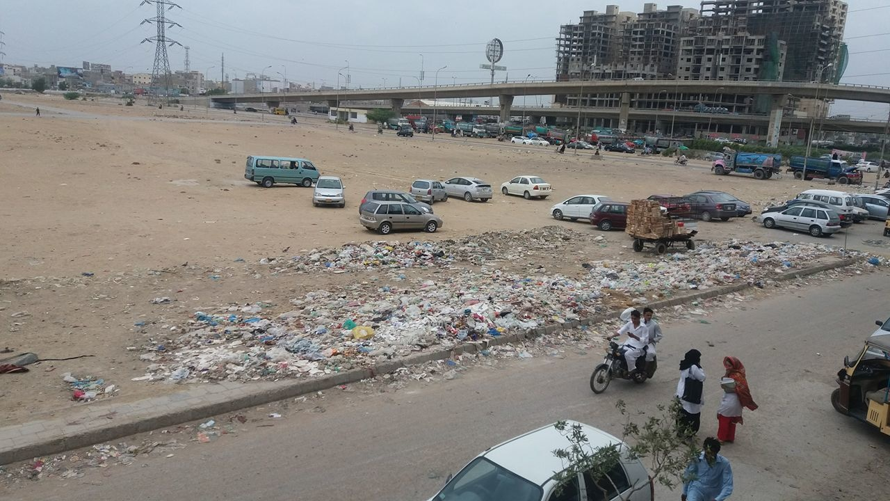 Korangi. — Submitted by Qurat Ul Ain Abbassi on Facebook