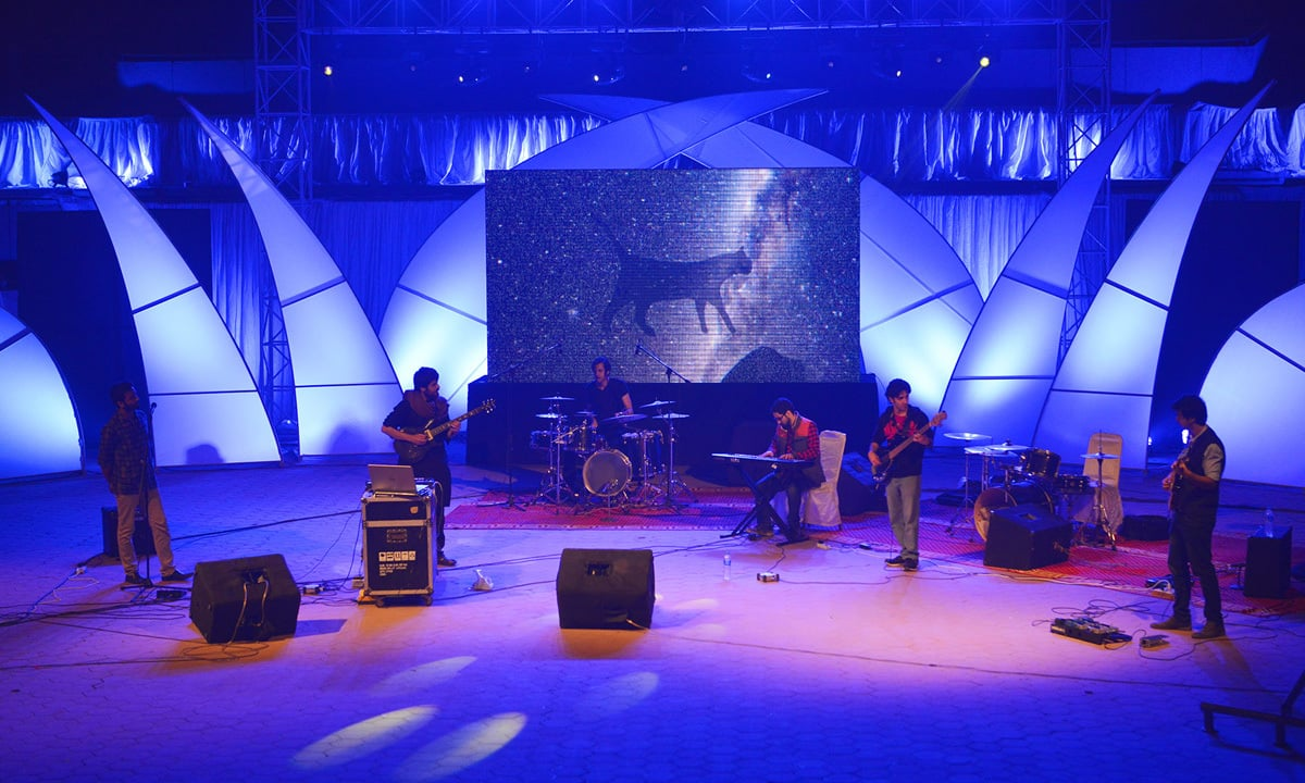 Red Blood Cat performs at Alhamra Arts Council in Lahore | Arif Ali, White Star