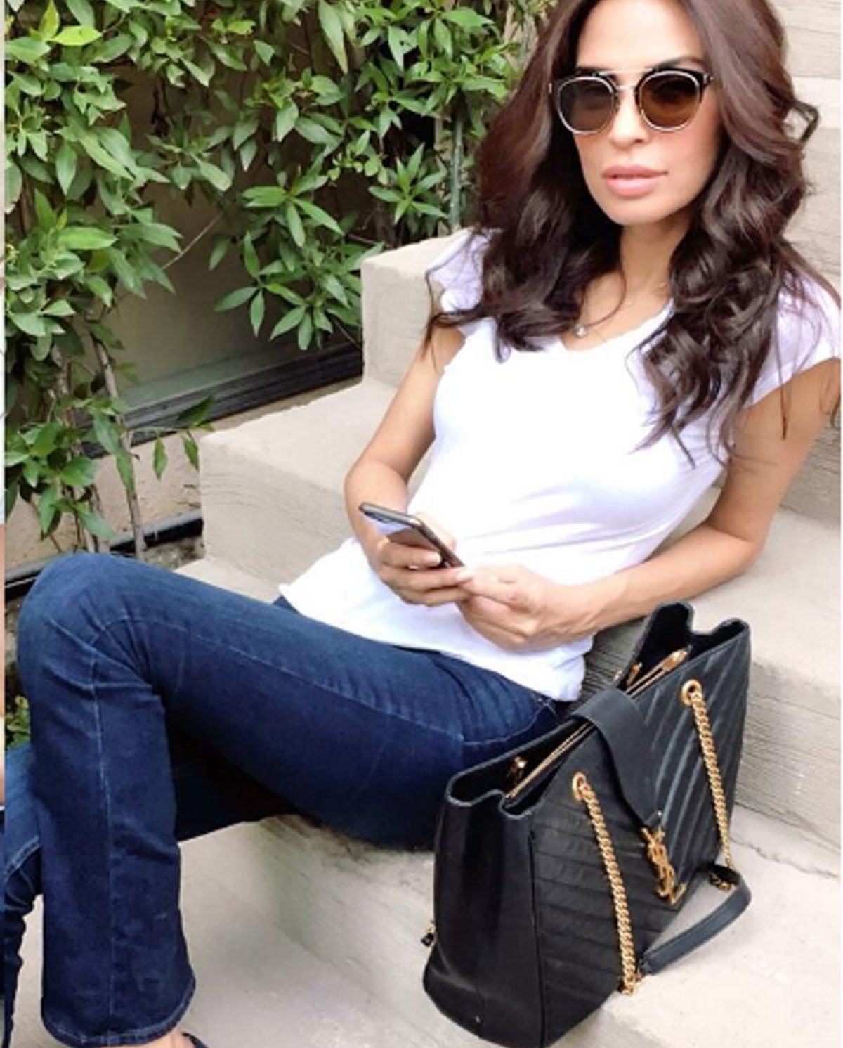 It's all about the bag and Fouzia Aman knows it.