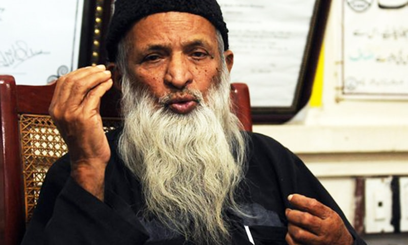 Now that Edhi has gone, the onus is on us, each and every Pakistani, to carry forward his precious baton of humanitarianism. — AFP