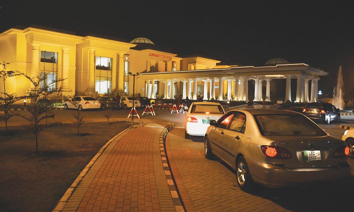 The Model Town Community Center in Lahore   Arif Ali, White Star