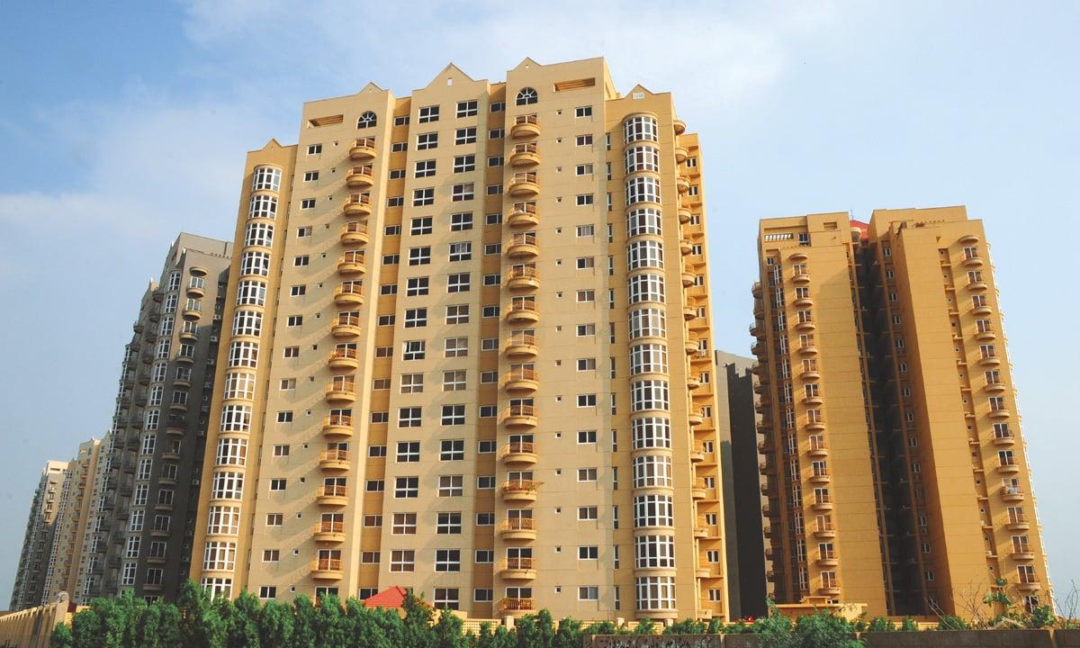 The high-rise Creek Vista apartments in Karachi  Stephan Andrew, White Star
