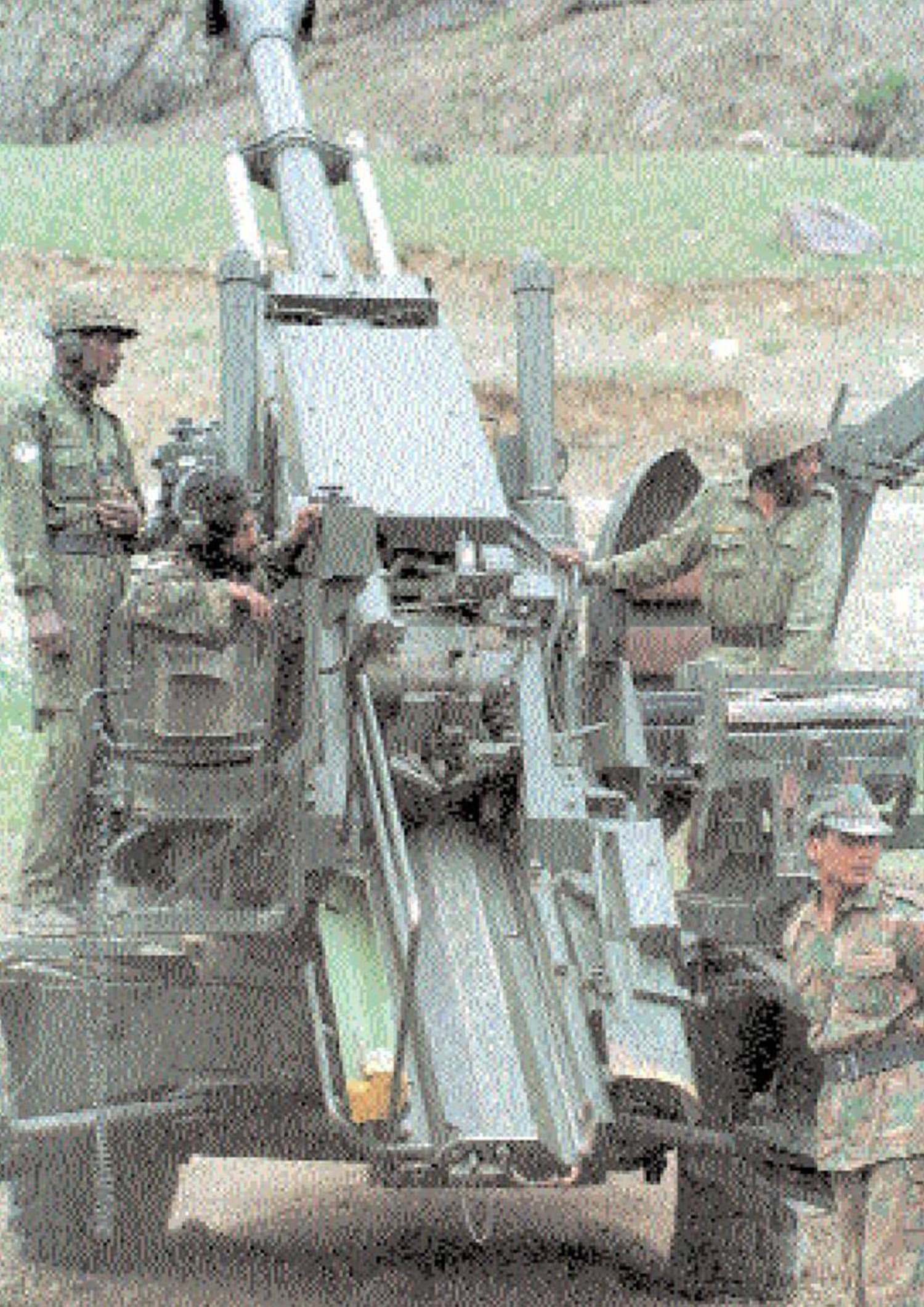The Indian Army: facing heavy losses | Archives