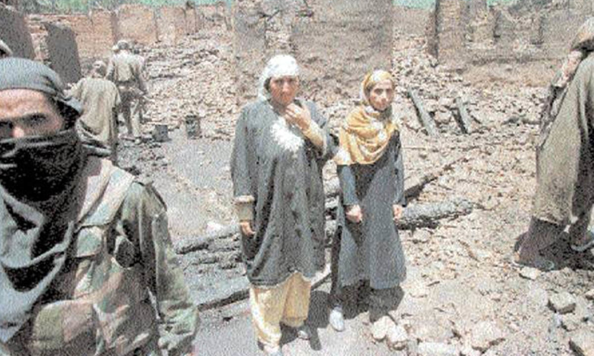 Caught in the crossfire: villagers in Azad Kashmir | Archives