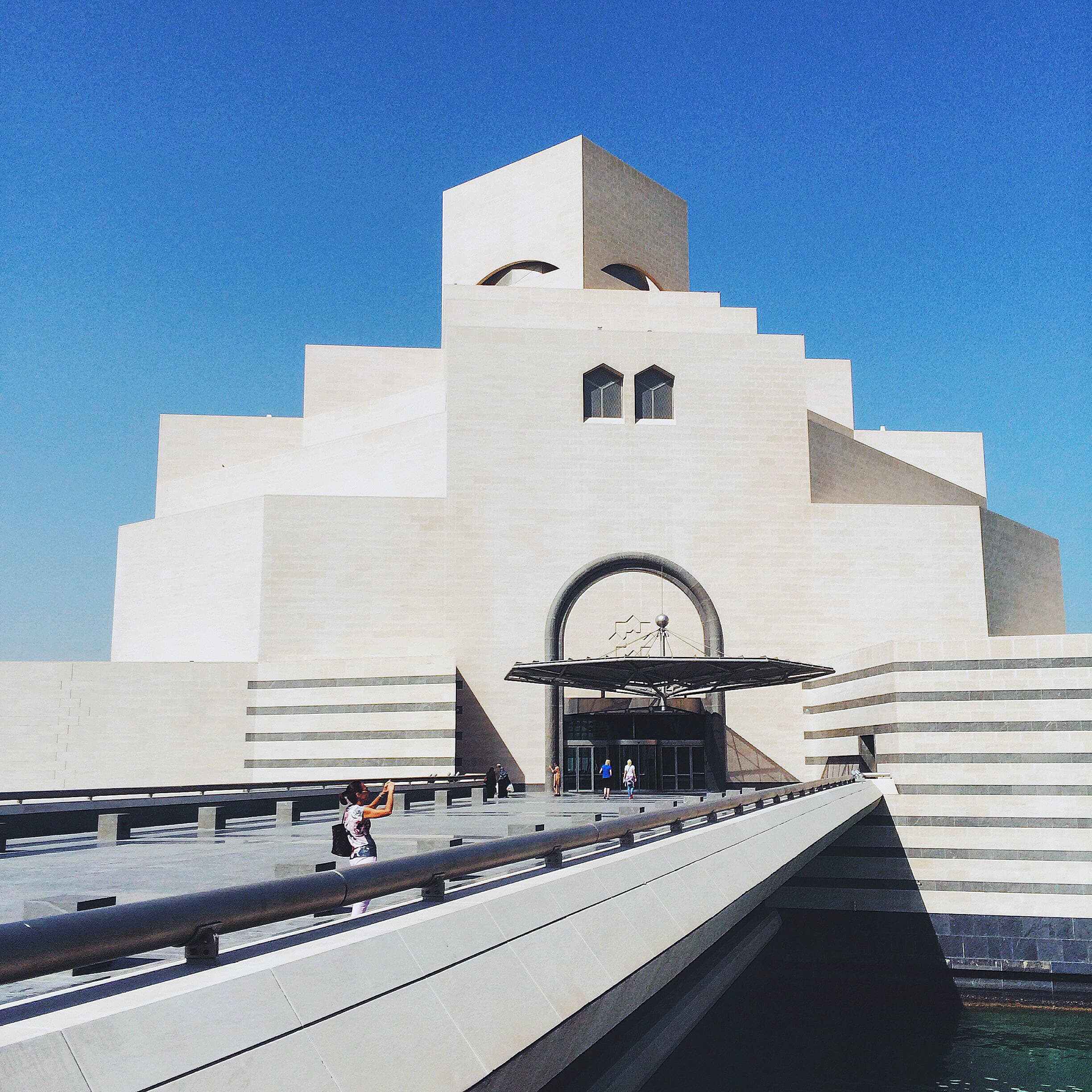 The iconic Museum of Islamic Art.