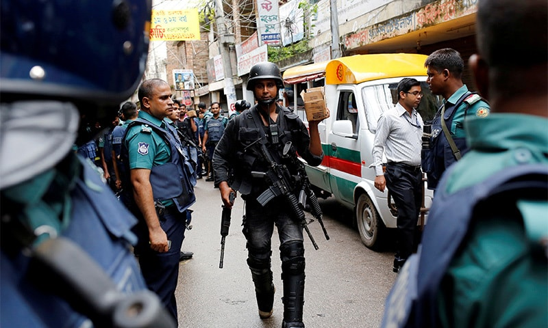 Bangladesh's missing militant link: the threat from abroad