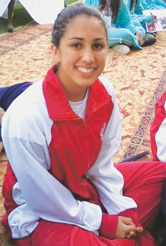 Swimmer Lianna Swan