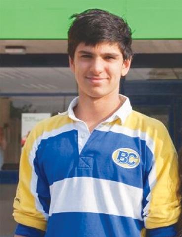 Swimmer Haris Bandey
