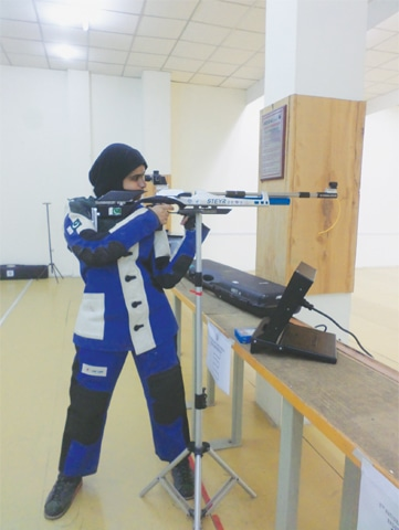 Shooter Minhal Sohail