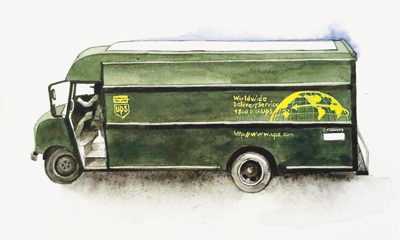 'UPS Truck'