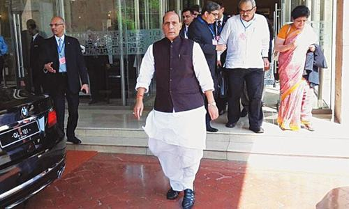 Indian home minister leaves Saarc meeting abruptly amid bitterness