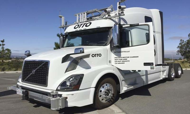 Self-driving start-up Otto to test with truckers by year's end