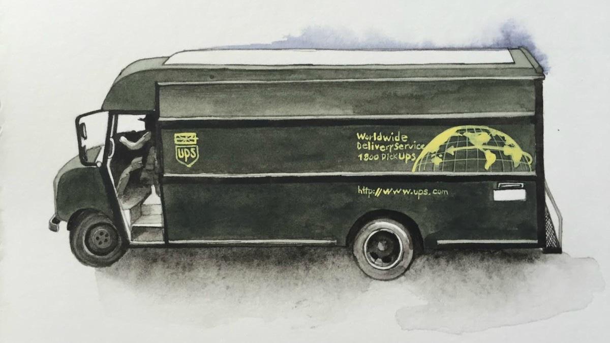 'UPS Truck' detail